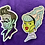 Thumbnail: Frankie Holographic Sticker
