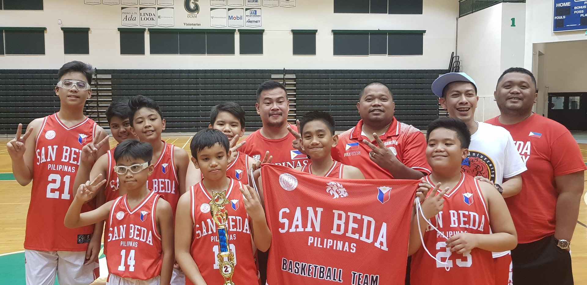 12U Second Place-San Beda