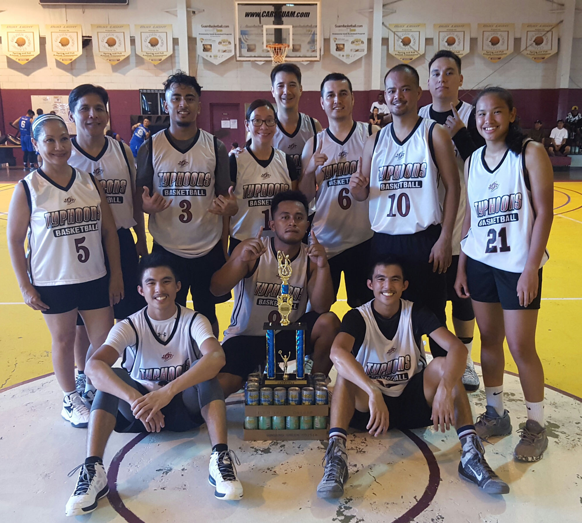 Coed Rec Champs - Tamuning Typhoons
