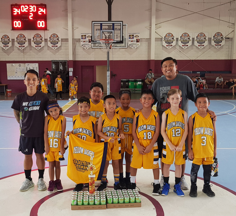 8U Champs - Dededo Yellow Jackets