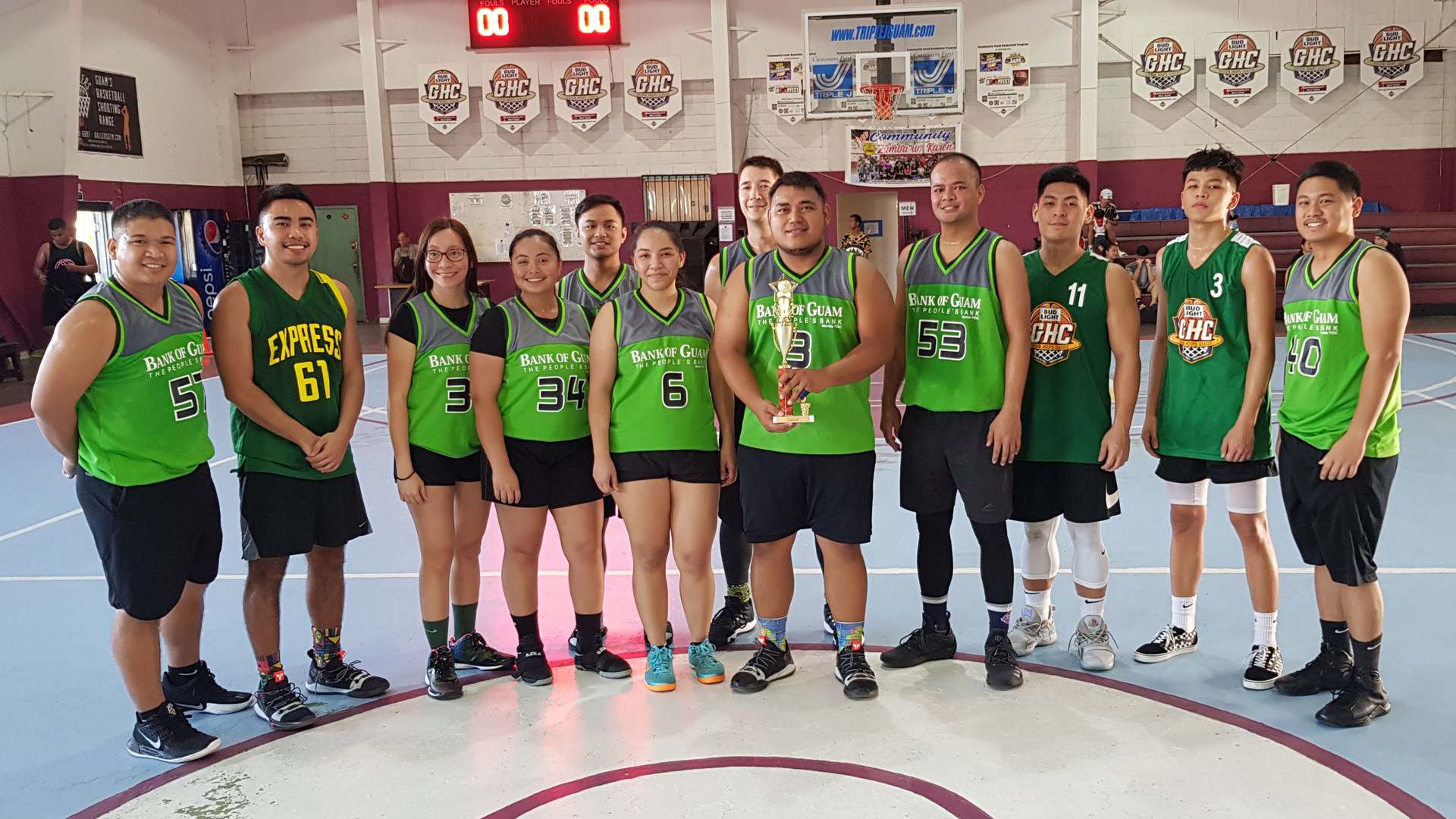 Coed Rec Champs - Bank of Guam