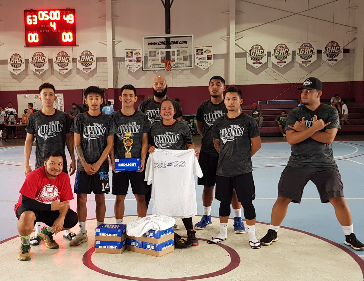 Bud Light GHC 2019 Spring Coed Rec Second Place - Tamuning Typhoons