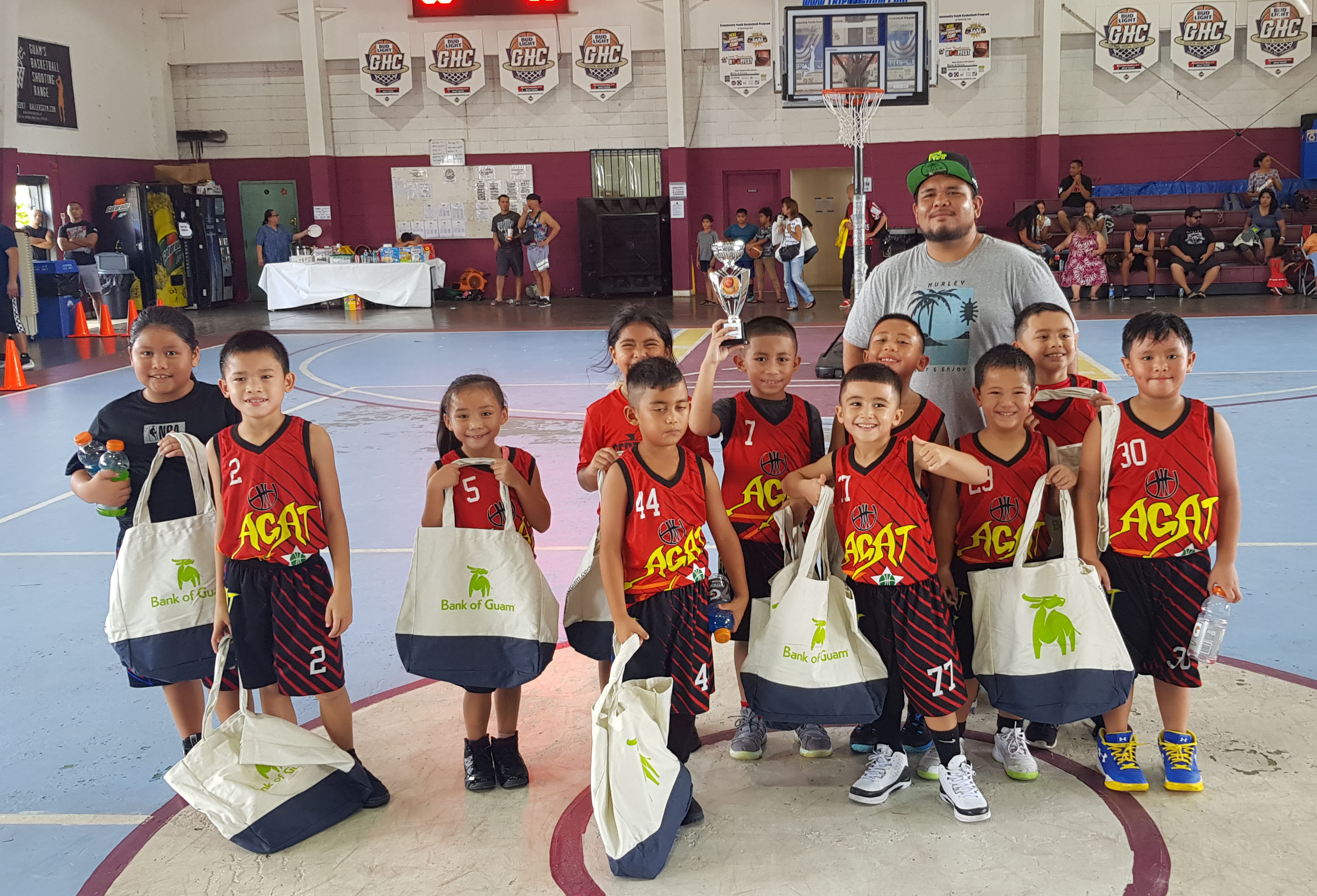 8U Second Place-Agat Stars