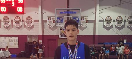 14U MVP & Top Scorer-Xander Sanchez