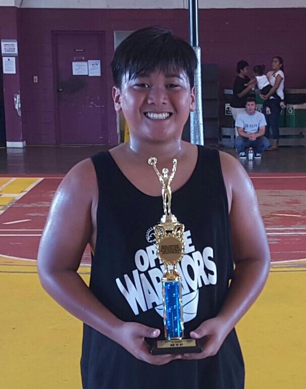 10U MVP Noah Hernandez