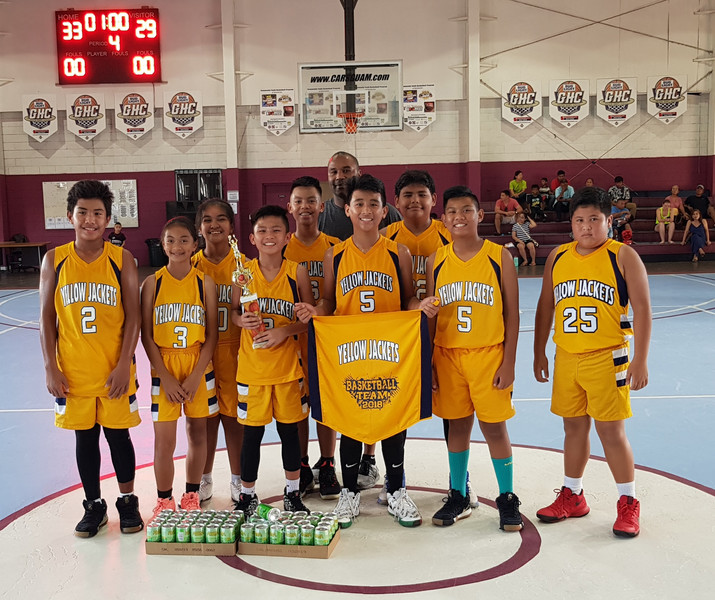 12U Champs - Dededo Yellow Jackets