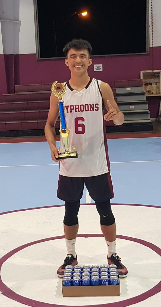 GHC 2018 Top Scorer-Ethan Alegre