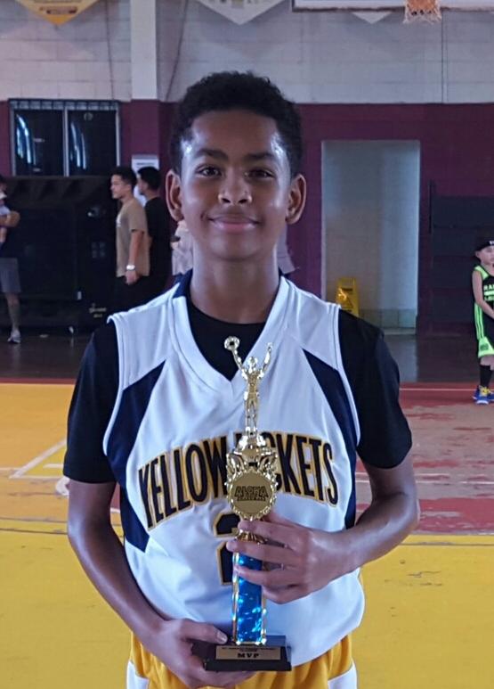 12U MVP Elijah Richardson