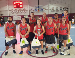Coed Rec 2nd Place -Team Savage