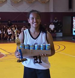 Coed Rec MVP Destiny Castro