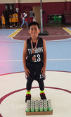 8U Top Scorer - JR Williams