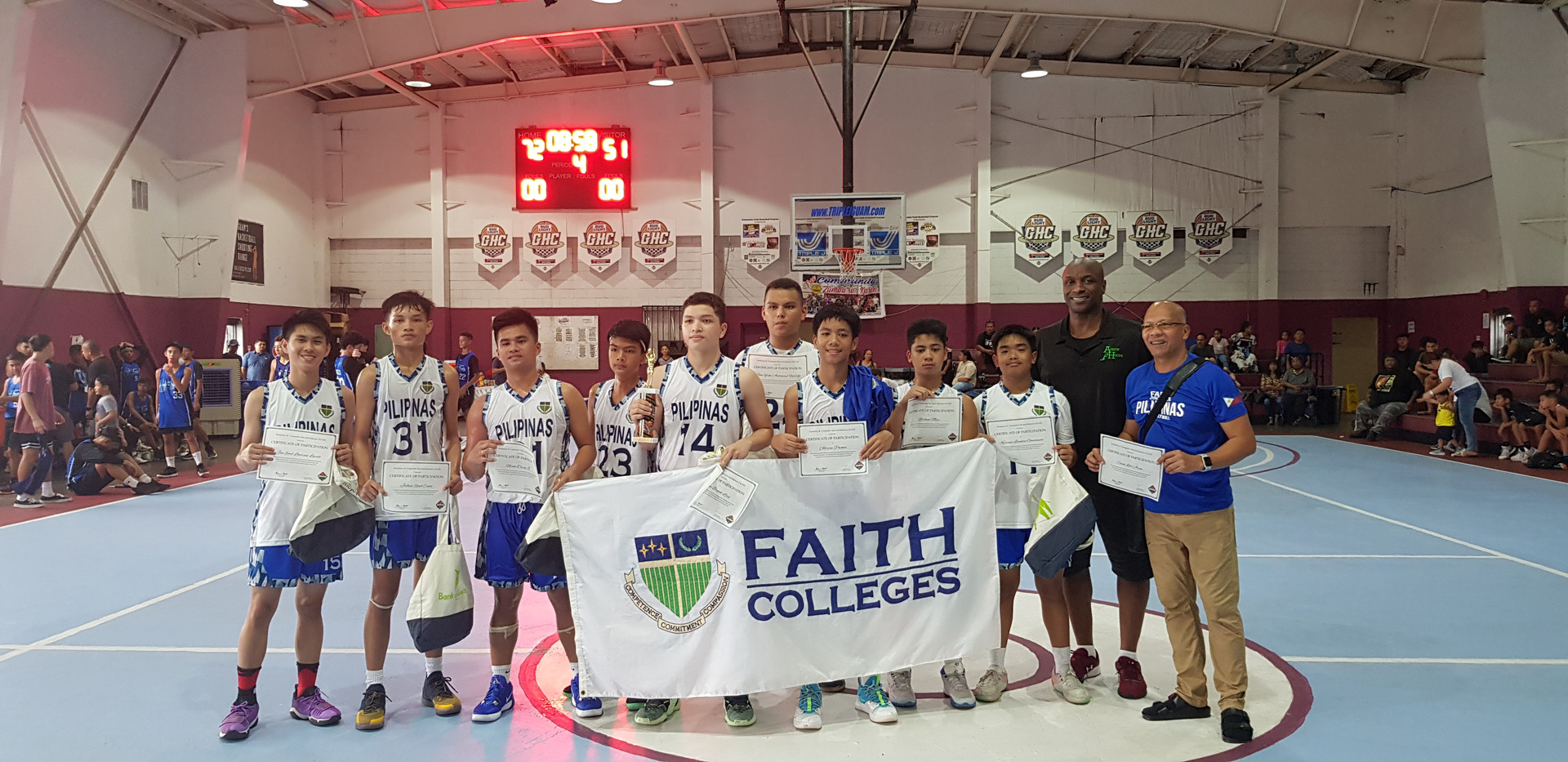 16U 2nd Place-Faith Tanauan (Manila)