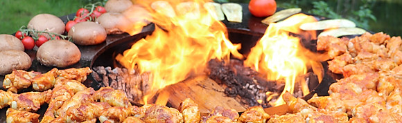 OFYRmidable BBQ (voorgerecht, hoofdgerecht en dessert vanaf 28,5 euro pp)