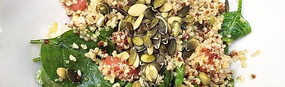 Healthy Foodtruck (5,50 euro wraps, 7,50 euro bowls)