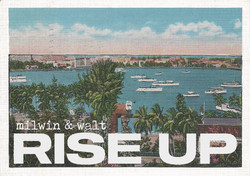 Postcard front for Rise Up