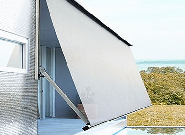 Pivot Arm Awning Outdoor