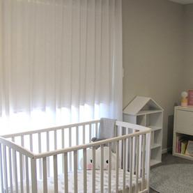 Ripple Fold Curtain in Nursery