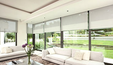 Automated roller blinds remote control