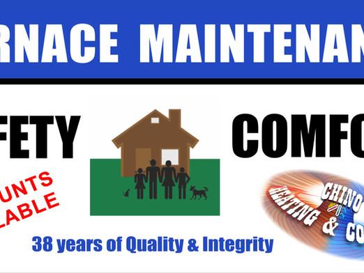 Annual Furnace Maintenance…Do I Really Need One?