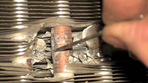 Troubling Pinhole Leaks in Evaporator Coils Cause Corrosion Issues
