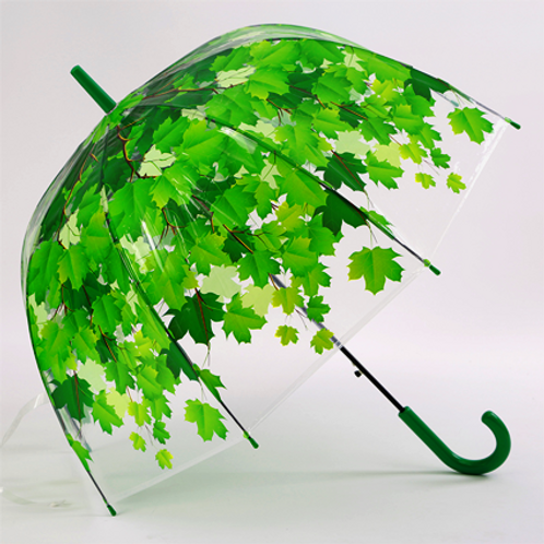 Копия «Летние зонты с листьями_зеленый»