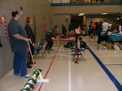 cub scout jingle bell obstacle course
