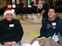 Allen & Jose Jr volunteer