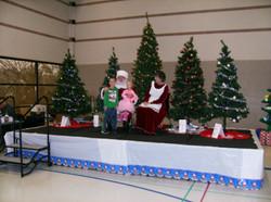 2016 Holiday Santa and Mrs Bill A