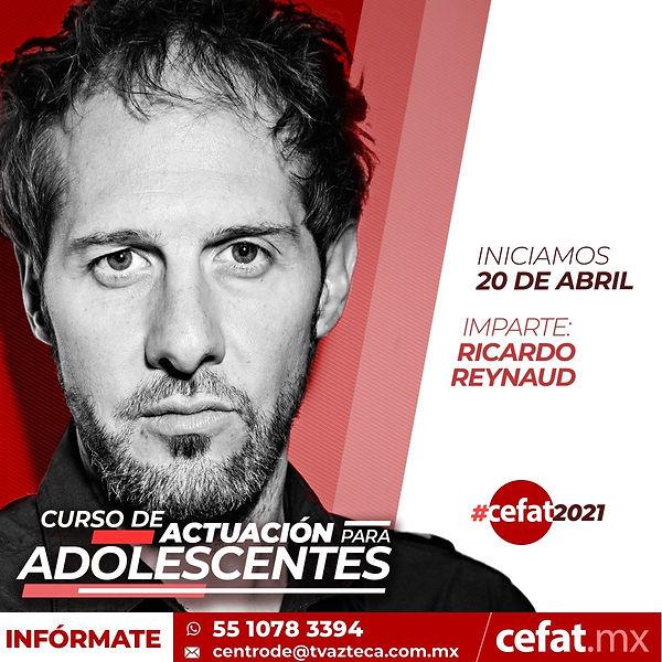 Ricardo_Reynaud_Cefat_clases_de_actuacio
