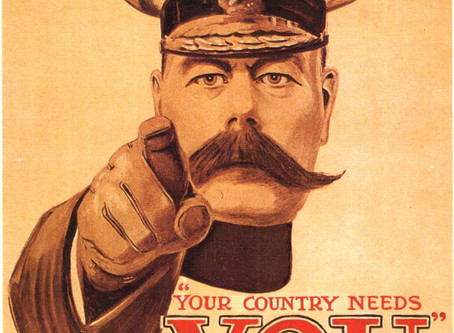 "The Rector's Corner - ""Your Country Needs YOU"""