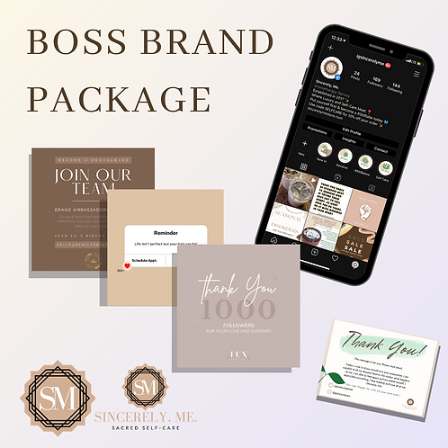 Boss Brand Package