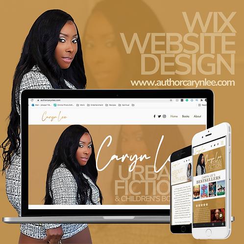 Wix Website Development