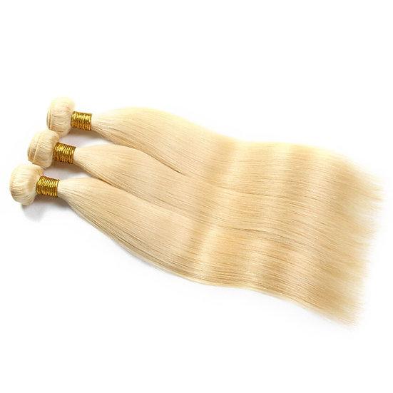 613 Blonde 3 Bundle Set - 100% Virgin Hair