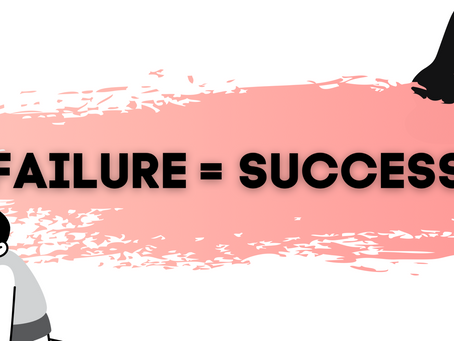 Failure is in the Formula for Success
