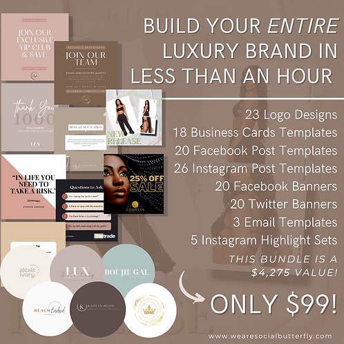 B.Y.O.B (Build Your Own Brand) Package