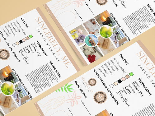 Text-Based Brand Identity Suite