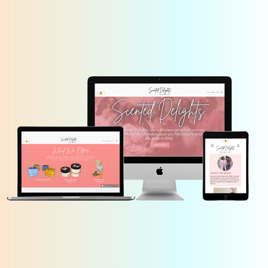 Web Design for Scented Delights
