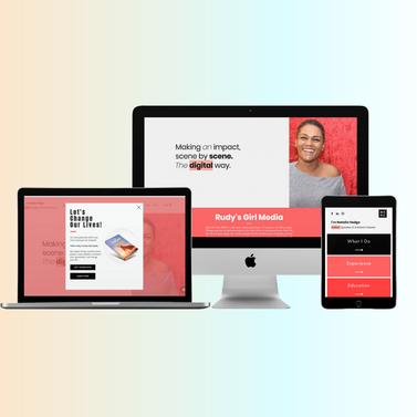 Web Design for Natalie Hodge