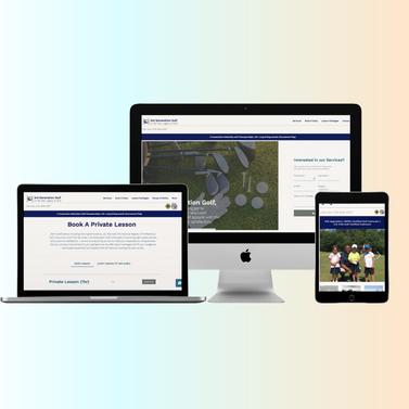 Web Design for 3rd Generation Golf