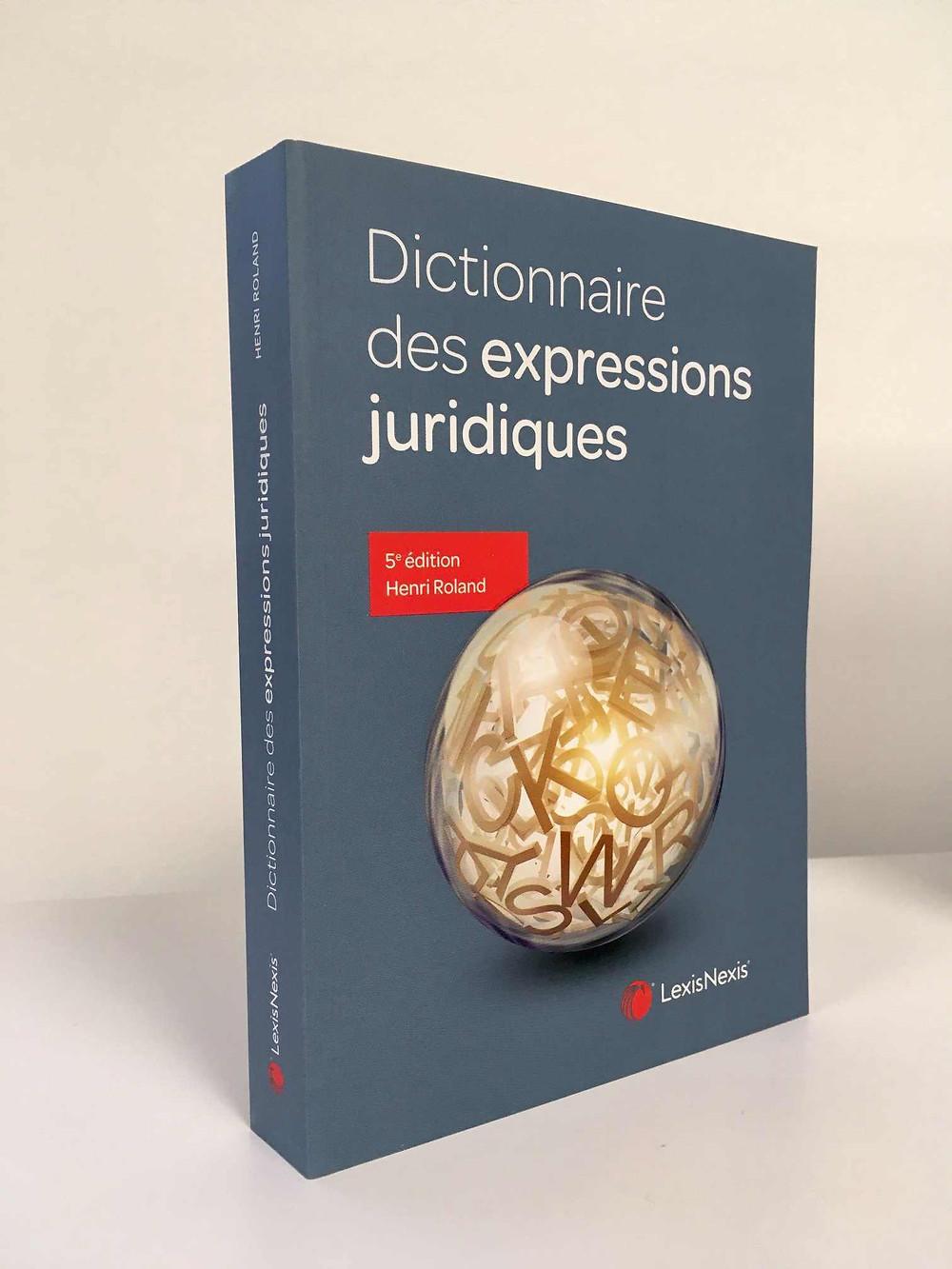 dictionnaire expressions juridiques