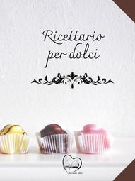 Ricettario per dolci