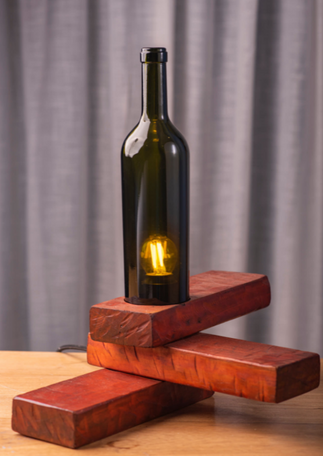 Balancing Act Recycled Table Lamp