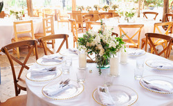 Beach Wedding Dining