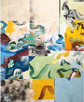 Art at Blue Apple: Paintings by Jared Buschang