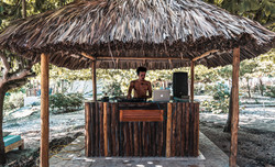 Blue Apple Beach House - DJ Booth