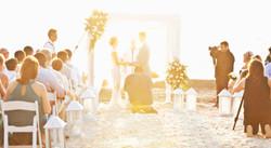 Sunset Wedding Blue Apple Beach Colombia