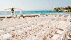 Beach Wedding Ceremony Blue Apple