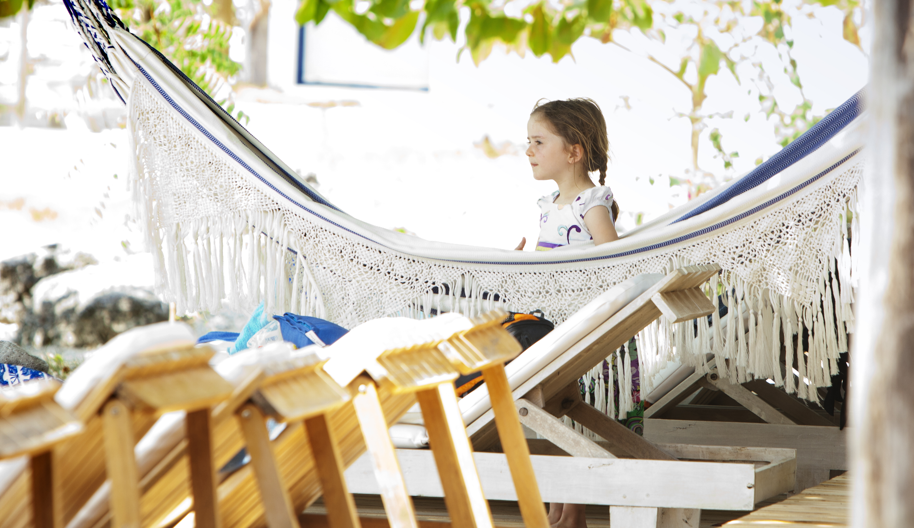 Hammocks at Blue Apple
