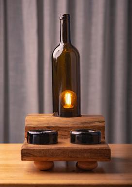 Multitasking Bedside Lamp