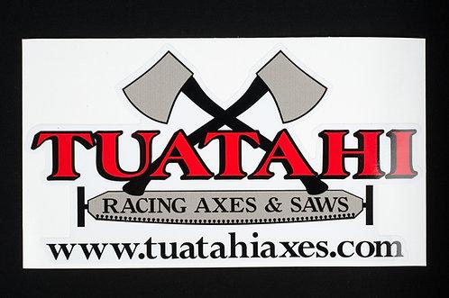 Tuatahi Decal - Large